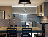 Interiors // Gentleman's apartment