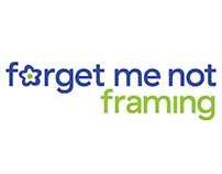 Forget Me Not Framing brand identity