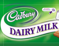 Cadbury Dairy Milk Independence Day Packaging