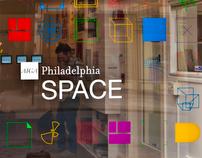 AIGA Philadelphia SPACE Identity