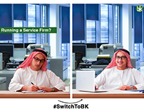 Book Keeper - #SwitchToBK Facebook Campaign