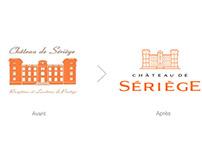 CHÂTEAU DE SÉRIÈGE : Communication globale & Logo