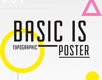 Basic is. poster