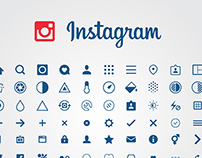 Free Instagram Vector Icons