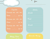 Babysitter Notepad for TinyTales