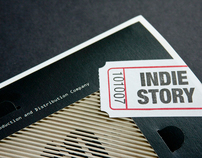 Indiestory Brochure for Pusan Int'l Film Festival 2010