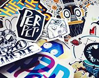 Stickers (série 01)