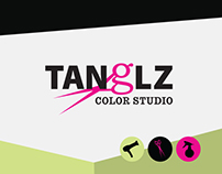 Tanglz Color Studio Branding