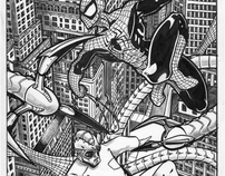 Spiderman vs Doctor Octopus
