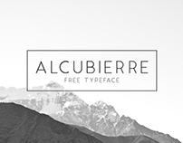 Alcubierre || Free Typeface