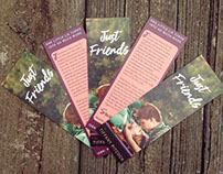 Just Friends - Bookmarks and Stickers