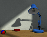 Desk Lamp Animation