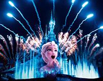 Création Page Disneyland sur le site