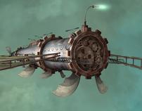 Raie Mant'Air Concept Ship