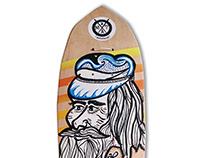Skateboard @matdisseny • Captain Surf