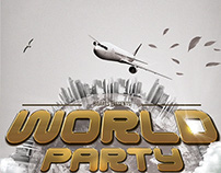 Club Party Flyer • World Party