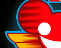 Fan Art: Totem Deadmau5 and daft punk