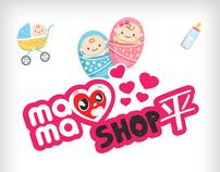 Mamaishop.com iPhone App Interface Design