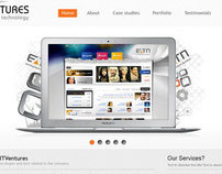 ITVentures Website design