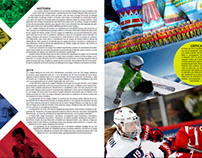 Editorial Design (Sochi 2014)
