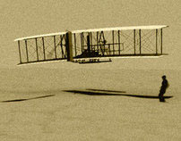 Wright Brothers 3-d Rendering