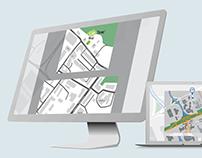 Maps design & illustration