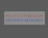 Politics through sentiment keywords