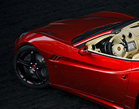 """Red beauty""                         Ferrari California"