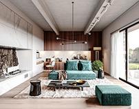 Living Room (Full CGI)