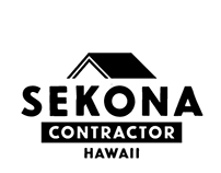 Logo Design for Sekona Contractor Hawaii