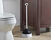 Casabella Plunger with Evaporative Base - Patented