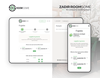 Roomsome booking engine redesign