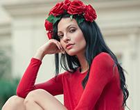 RED&CORAL Model: Ela Green Photo by Jose Juan Pantoja