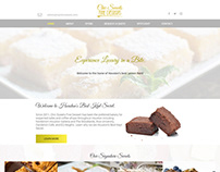 Chic Sweets Logo and Website