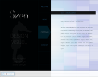 Flash website for Sven | WEBDESIGN