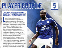 Leicester City Football Club Concept Work