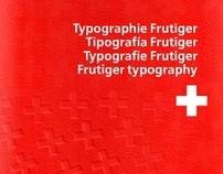 Espécimen Tipográfico Adrian Frutiger