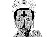 TFYQA †The Mad Hater . black and white