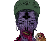 TFYQA †The Mad Hater . COLOUR