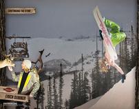 '10-'11 Sims Snowboard Ad Campaign