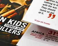 Child Soldiers Magazine Spread