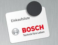Bosch Grocerylist iPhone App
