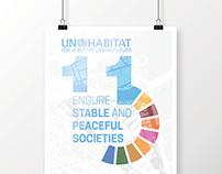 UN Habitat SDG Posters