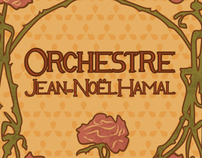 Advertisement Design for 'Orchestre Jean-Noël Hamal'