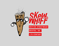 Skew & Whiff Co. Blunt Man Illustration