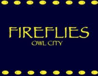 Song Typography Animation - Fireflies - Adobe Flash CS5
