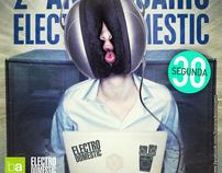 2º Aniv. Electro Domestic @ Bar Académico Guimarães