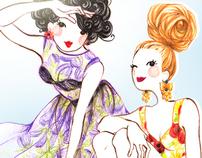 Fashion illustration - dolls