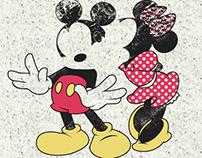 Disney - Mickey & Minnie Winter 15 Casual - Print