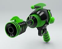 Fallout 4 Alien Blaster : Render 4
